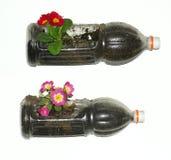 Uso de la basura Imagen de archivo