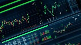 Uso de la compra y venta de acciones/interfaz stock de ilustración
