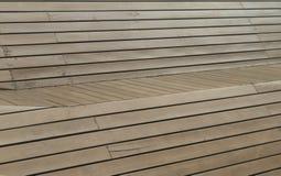Uso de madeira do painel de Brown como o fundo ou o papel de parede foto de stock royalty free