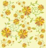 Uso del fondo del fiore per progettazione Immagini Stock Libere da Diritti