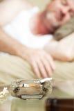 Uso della marijuana immagini stock