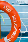 Uso di emergenza soltanto Fotografia Stock Libera da Diritti