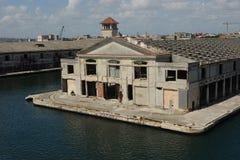 Uso editorial terminal 1 de mayo de 2017 de La Habana, Cuba Cruiseship solamente Fotografía de archivo libre de regalías