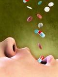 Uso excessivo da droga Foto de Stock