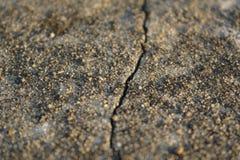 Uso incrinato di pietra al suolo del fondo Fotografia Stock