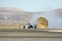 USO Smoke N Thunder Jet Car Stock Images
