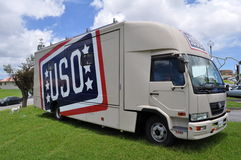 USO Truck Royalty Free Stock Image