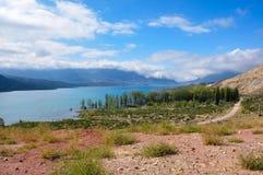 Uspallata ajardina entre Mendoza e Santiago de Chile, A Fotos de Stock