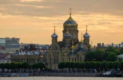Uspensk大教堂,圣彼得堡,俄罗斯 免版税库存照片