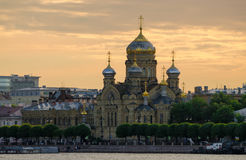 Uspensk domkyrka, St Petersburg, Ryssland Royaltyfri Foto