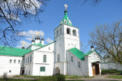 Uspenskaya church in Aleksandrovskaya Sloboda, Vladimir region, Golden ring of Russia Royalty Free Stock Images