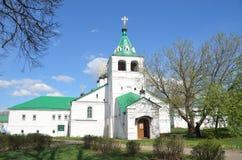 Uspenskaya church in Aleksandrovskaya Sloboda, Vladimir region, Golden ring of Russia. Uspenskaya church in Aleksandrovskaya Sloboda, Vladimir region, Russia Royalty Free Stock Images