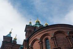 uspenski της Φινλανδίας Ελσίνκι & Στοκ εικόνες με δικαίωμα ελεύθερης χρήσης