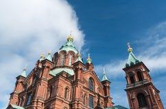 uspenski της Φινλανδίας Ελσίνκι & Στοκ φωτογραφία με δικαίωμα ελεύθερης χρήσης