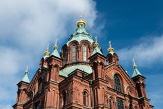 uspenski της Φινλανδίας Ελσίνκι & Στοκ φωτογραφίες με δικαίωμα ελεύθερης χρήσης