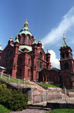 Uspenski Cathedral. Largest Western European Orthodox Cathedral Stock Images