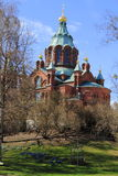 The Uspenski cathedral Stock Photo