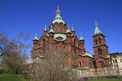 The Uspenski cathedral Royalty Free Stock Image