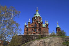 The Uspenski cathedral Stock Image