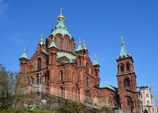 Uspenski Cathedral Stock Photography