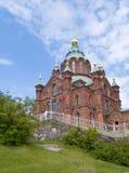 Uspenski Cathedral, Helsinki. The Orthodox Uspenski Cathedral in Helsinki, Finland Royalty Free Stock Images