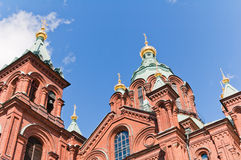 Uspenski Cathedral, Helsinki Royalty Free Stock Images