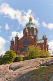 Uspenski Cathedral, Helsinki Stock Image