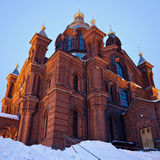 Uspenski Cathedral in Helsinki Stock Images
