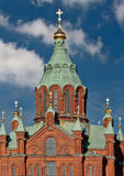 Uspenski Cathedral in Helsinki Royalty Free Stock Photos