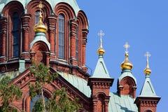 Uspenski Cathedral, Helsinki Royalty Free Stock Photography