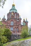 Uspenski Cathedral Helsinki Royalty Free Stock Photo