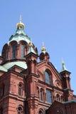 Uspenski Cathedral, Helsinki, Finland stock photos