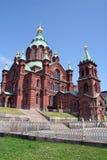 Uspenski Cathedral, Helsinki, Finland Royalty Free Stock Photos