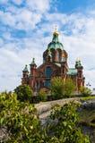 Uspenski Cathedral in Helsinki, Finland Stock Images