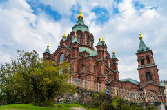 Uspenski Cathedral in Helsinki, Finland Stock Photo