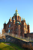 Uspenski Cathedral in Helsinki Finland Royalty Free Stock Images