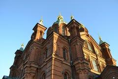 Uspenski Cathedral in Helsinki Finland royalty free stock photos