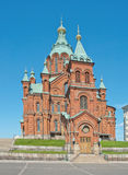 Uspenski Cathedral in Helsinki Royalty Free Stock Images