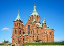 Uspenski Cathedral in Helsinki Royalty Free Stock Image