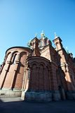 Uspenski Cathedral in Helsinki, Finland Royalty Free Stock Images