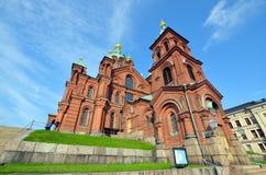 Uspenski Cathedral Royalty Free Stock Photo