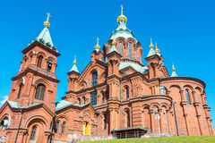 Uspenski Cathedral. Helsinki, Finland Royalty Free Stock Photography