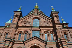 Uspenski Cathedral in Helsinki Royalty Free Stock Photography