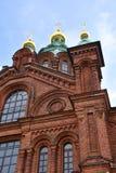 Uspenski-Kathedrale, Helsinki stockfotos
