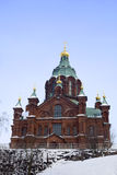 Uspenski Orthodox Church Royalty Free Stock Photo
