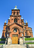 Uspenski Orthodox Church, Helsinki 2 Royalty Free Stock Photos