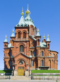 Uspenski Orthodox Church, Helsinki 3 Royalty Free Stock Photos