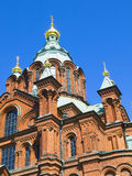 Uspenski Orthodox Church, Helsinki 4 Royalty Free Stock Photos