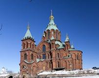 Uspenski Orthodox Church in Helsinki, Finland, Europe Stock Photo