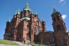 Uspenski Ortodoksalny kościół, Helsinki Obraz Royalty Free